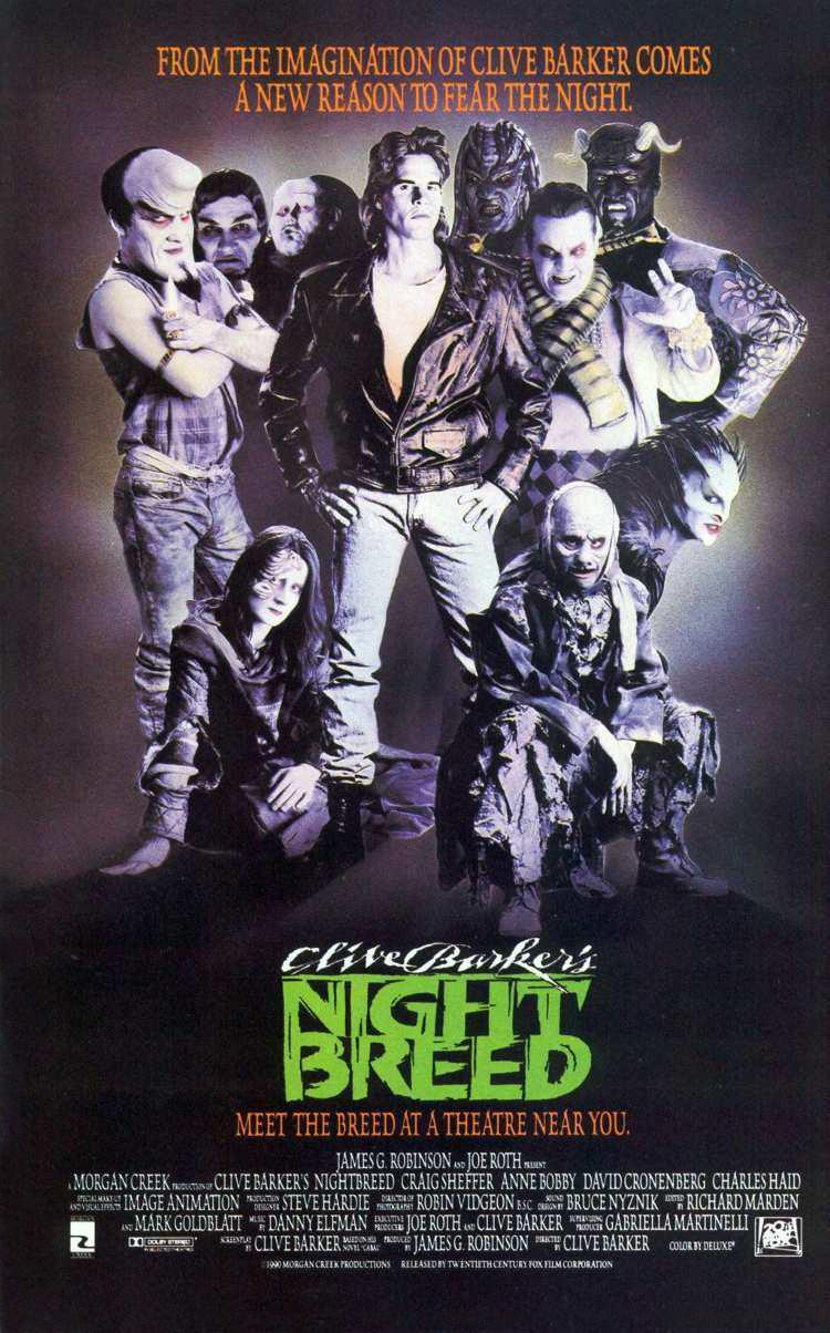 Affiche de Nightbreed