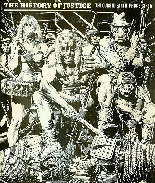 Mutants dessinés par Brian Bolland