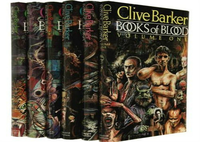 Books of Blood  Couvertures de Clive Barker