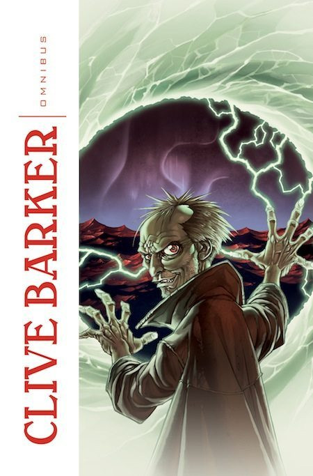 cover Clive Barker Omnibus IDW