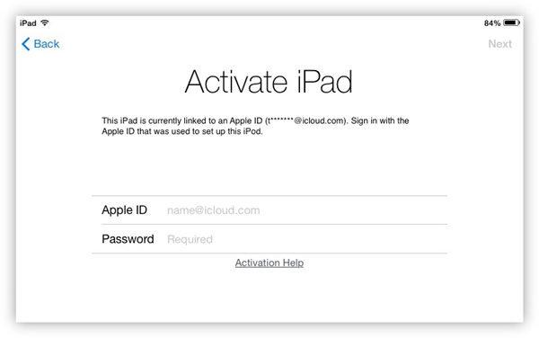 Sell iCloud locked iPad