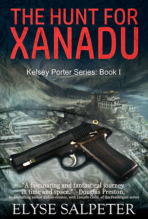 THE HUNT FOR XANADU Thriller Cover Ebook