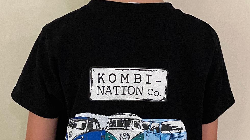 Black 'Kombi-Nation Co' Tee
