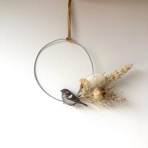 Goldfinch Wreath (mini)