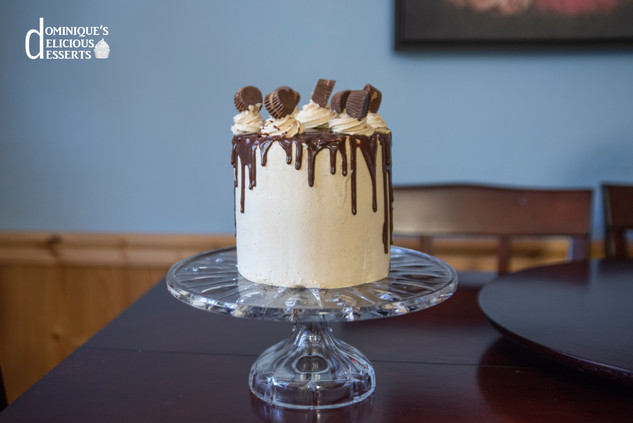 Dominique's Reese's Peanut Butter Cake