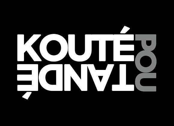 Koute pou Tandé (fonds de couleur)