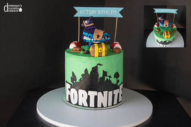 Our Fortnite Cake