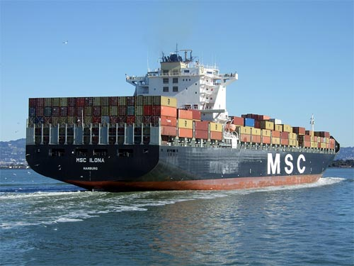 container-ship MSC