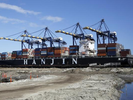 Hanjin vende navi per arginare il crac