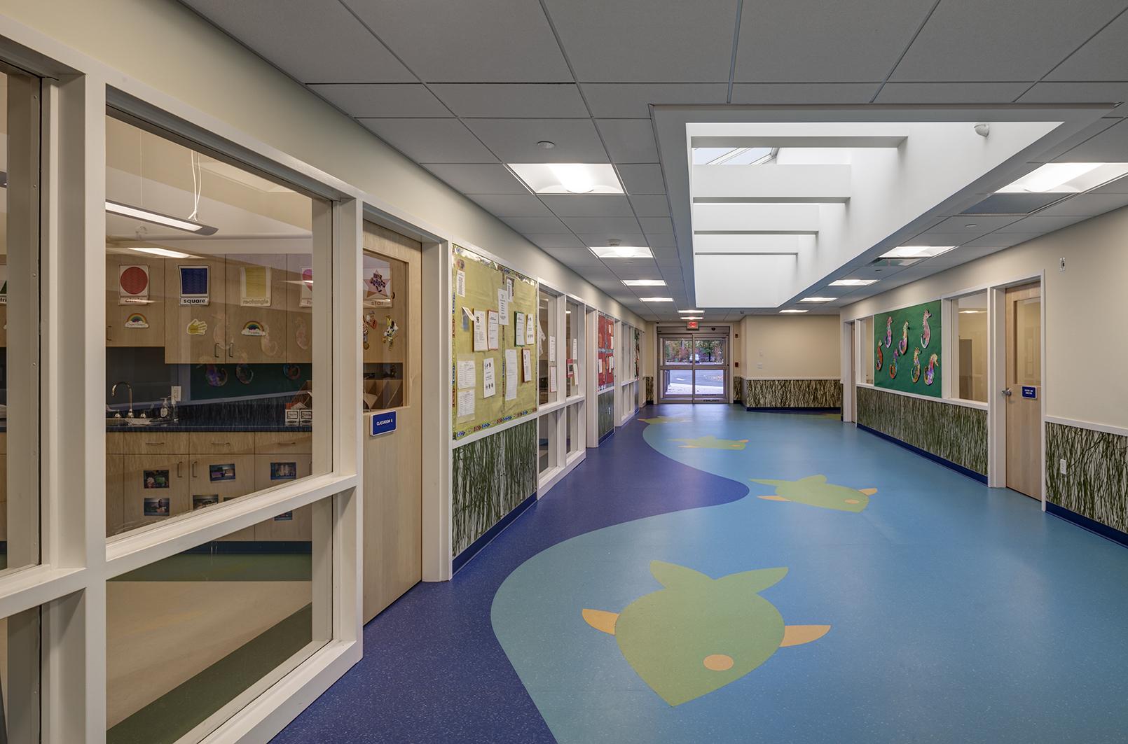 Darien YMCA education wing