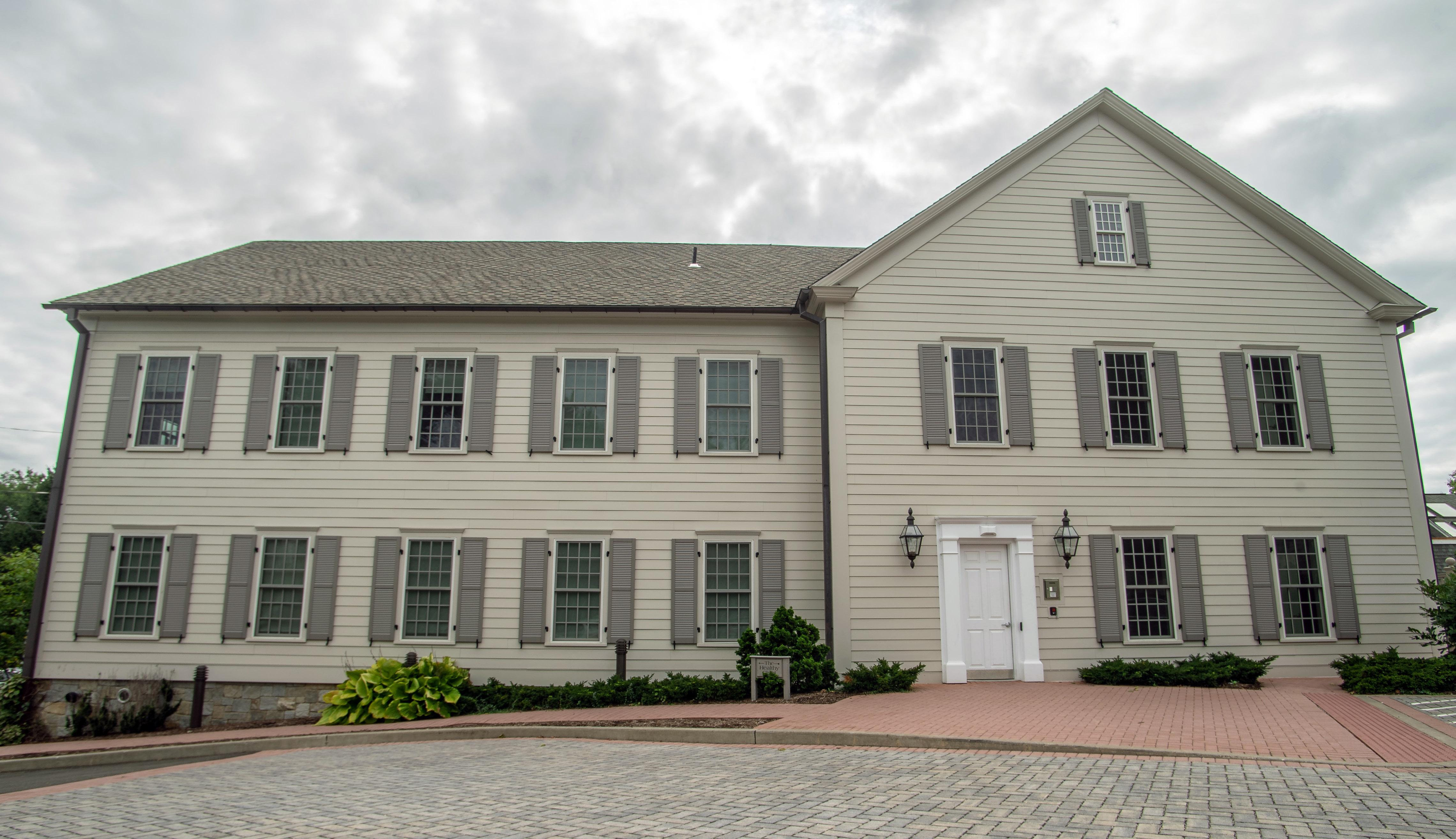 Mead House rear entrance