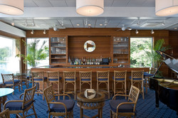 The Tokeneke Club bar