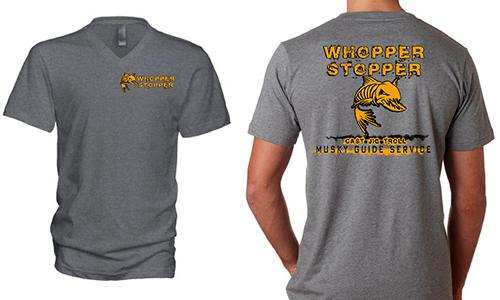Whopper Stopper T-Shirt - Dark Heather Grey