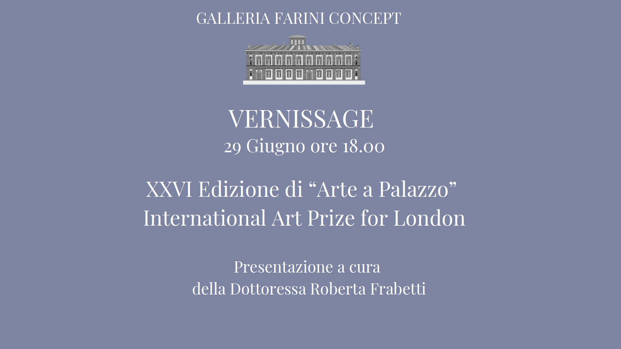 Arte a Palazzo vernissage