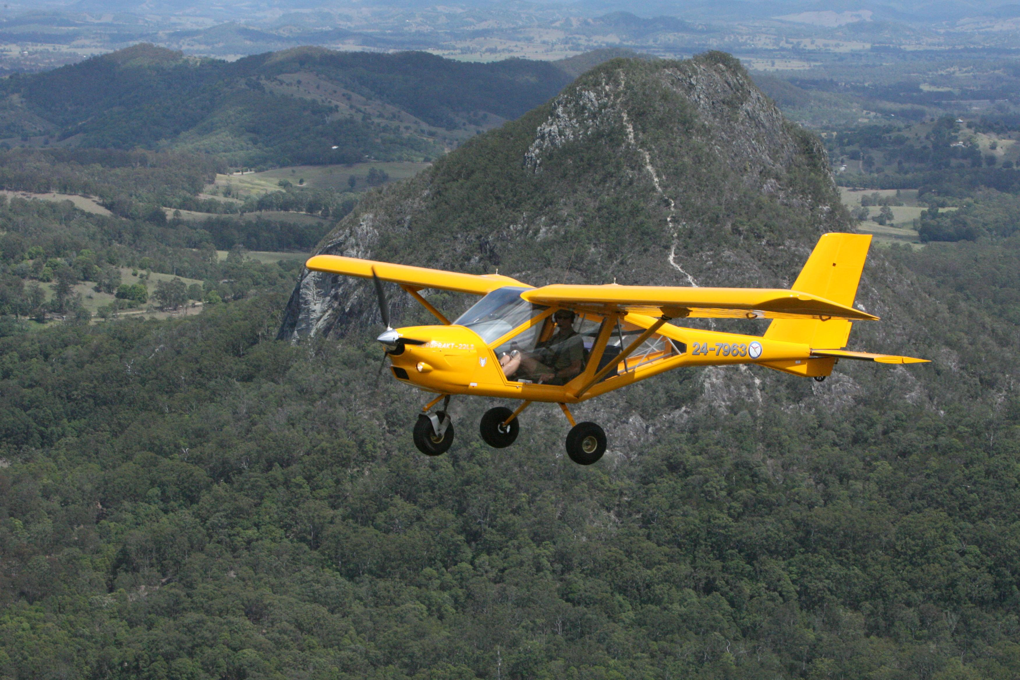 Foxbat Sortie over Mt Cooroora