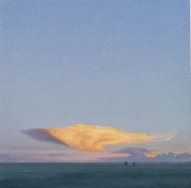 Yellow Cloud South of Marfa