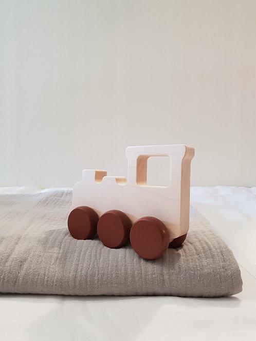 חיתול טטרה עם רכבת עץ