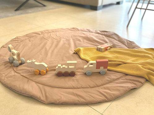 שטיחון פעילות עגול