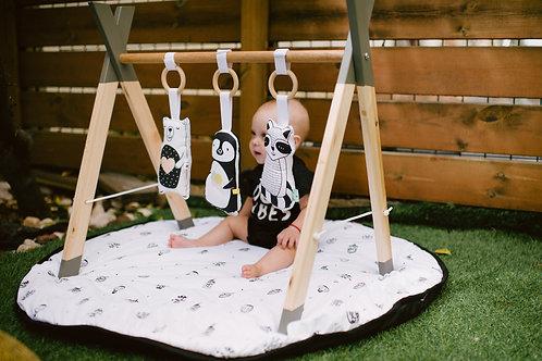 מובייל ריצפה | אוניברסיטה לתינוק כולל שטיחון פעילות | Baby Gym
