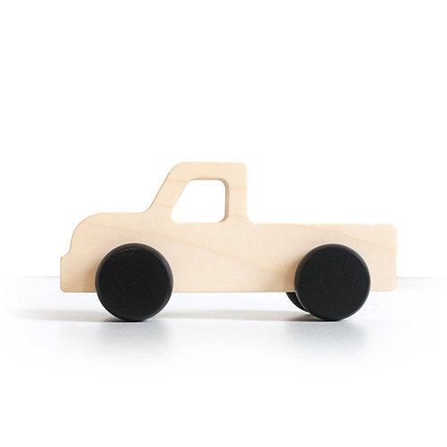 משאית / מכונית עץ לעיצוב ולמשחק