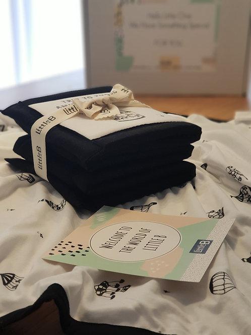 Summer Box- שמיכה לעגלה וספר בד