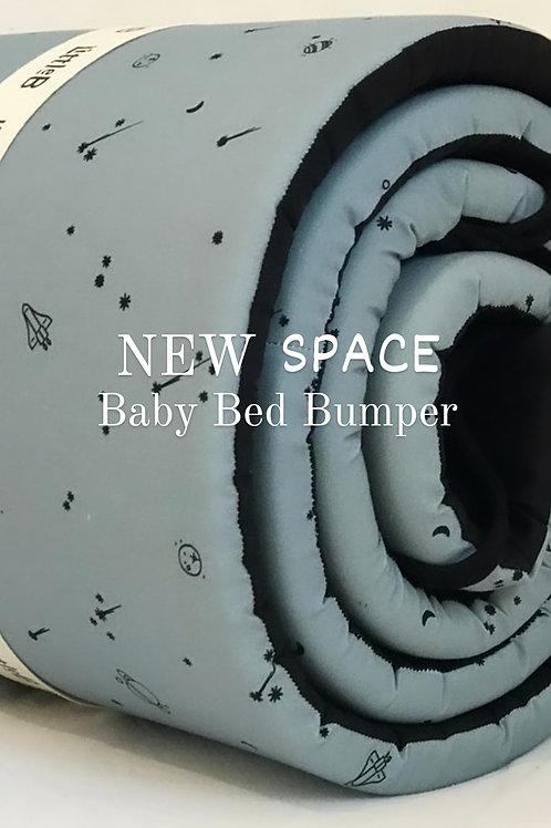 מגן ראש למיטת תינוק -  space