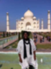 Melody M Miller, Beautiful Black Woman, Life Coach, African-American Life Coach, Motivational speaker, Positively Melody, Taj Mahal