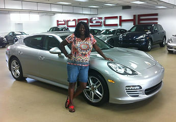 Melody M Miller, Beautiful Black Woman, Life Coach, African-American Life Coach, Motivational speaker, Positively Melody, Porsche