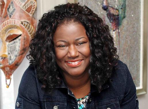 Beautiful Black Woman, Life Coach, African-American Life Coach, Abiola, African Mask, Motivational speaker