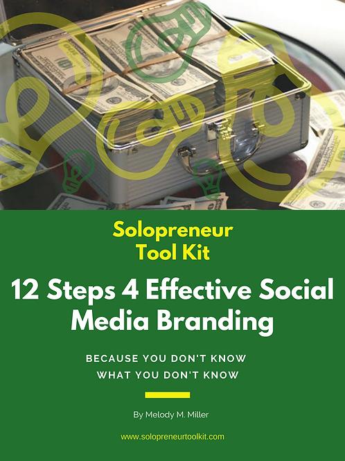 12 Easy Steps for Effective Branding
