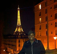 Melody M Miller, Beautiful Black Woman, Life Coach, African-American Life Coaclh, Larissa Miller, Motivational speaker, Positively Melody, Eiffel Tower