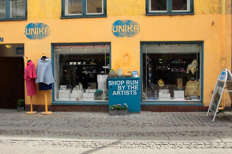 Unika - butik - kompagnistræde