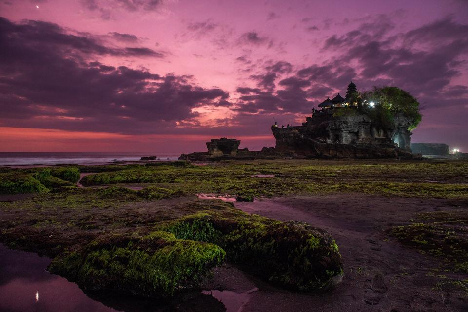 Fotografie-Landschaft-Bali-Tanahlot-Sonn