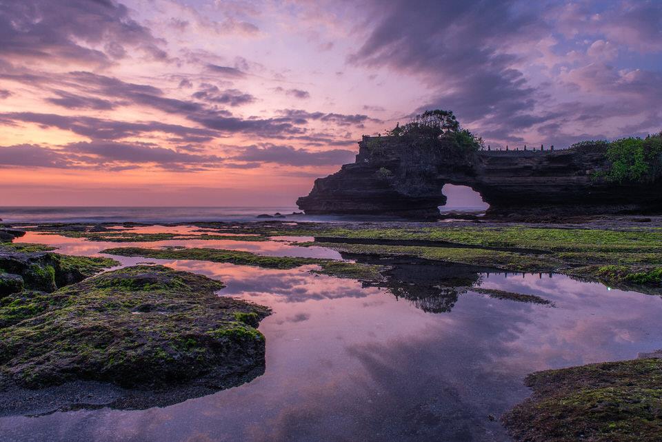 Fotografie-Landschaft-Bali-Tempel-Sonnen