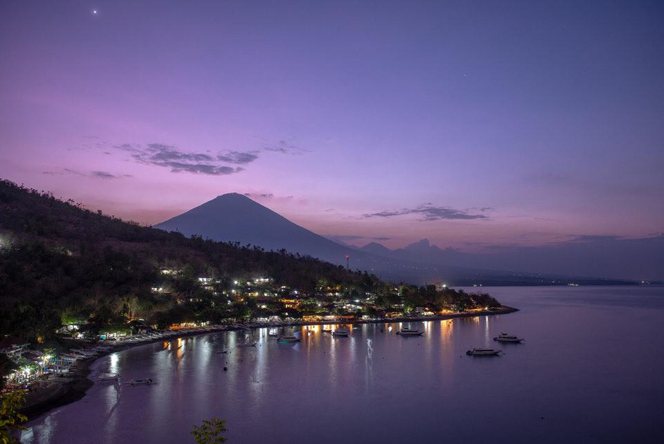 Fotografie-Landschaft-vulkan-bali-sonnen
