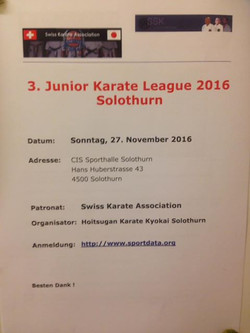 3. Junior Karate League