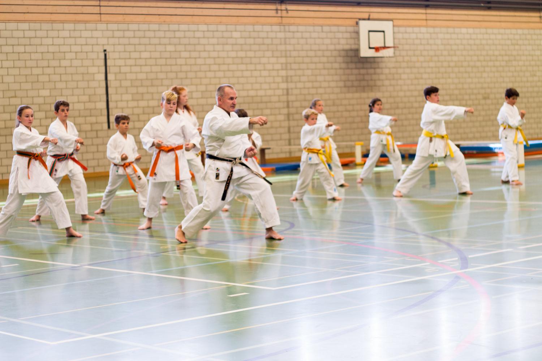 Karate Vorführung