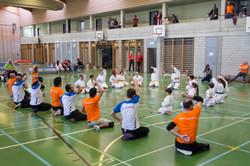 Plusport und Karate-Team