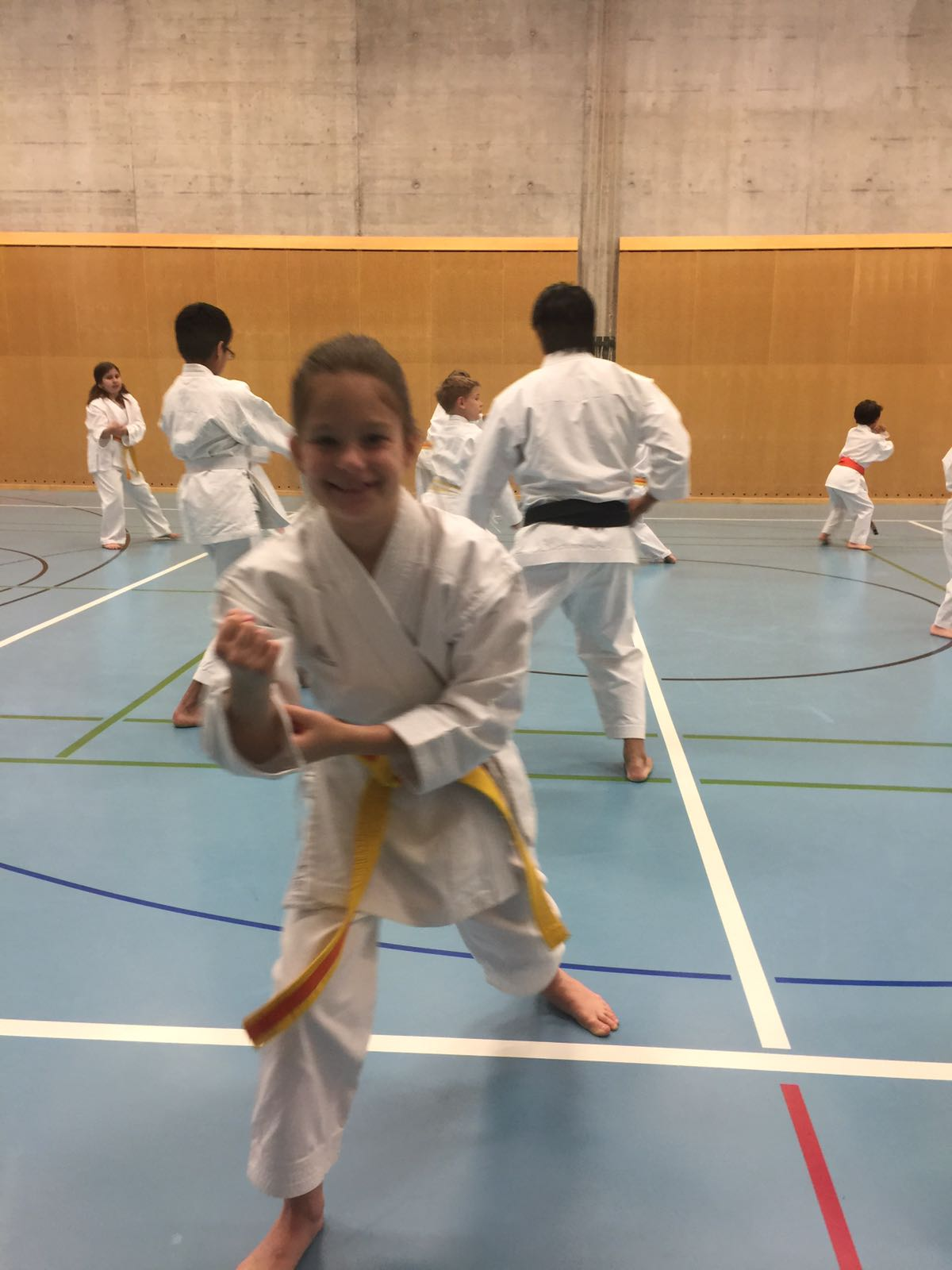 Karate mit Weltmeister J. Chess 2017