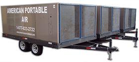 25 Ton Trailer portable A/C