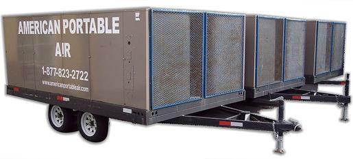 25 Ton trailer mount portable air conditioner