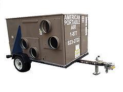 5 ton /10 Ton cart mount portable A/C