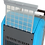 Thumbnail: ClimaTemp Revolt 5000 LGR Dehumidifier