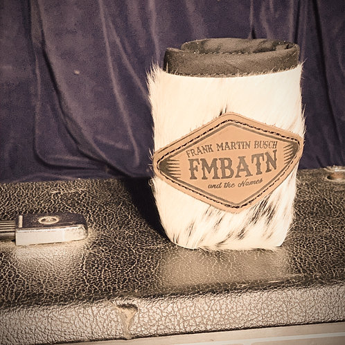 FMBATN Cowhide Coozie