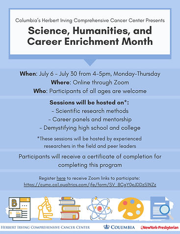 Science_Humanities_Career Month  -- July