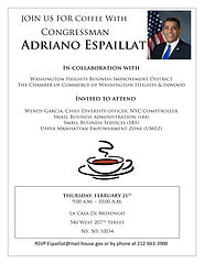 Coffee With Your Congressman February 21, 2019