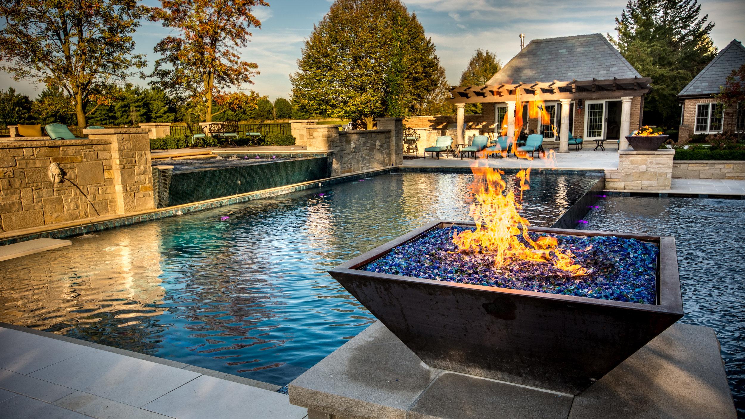 Water Fire Pots