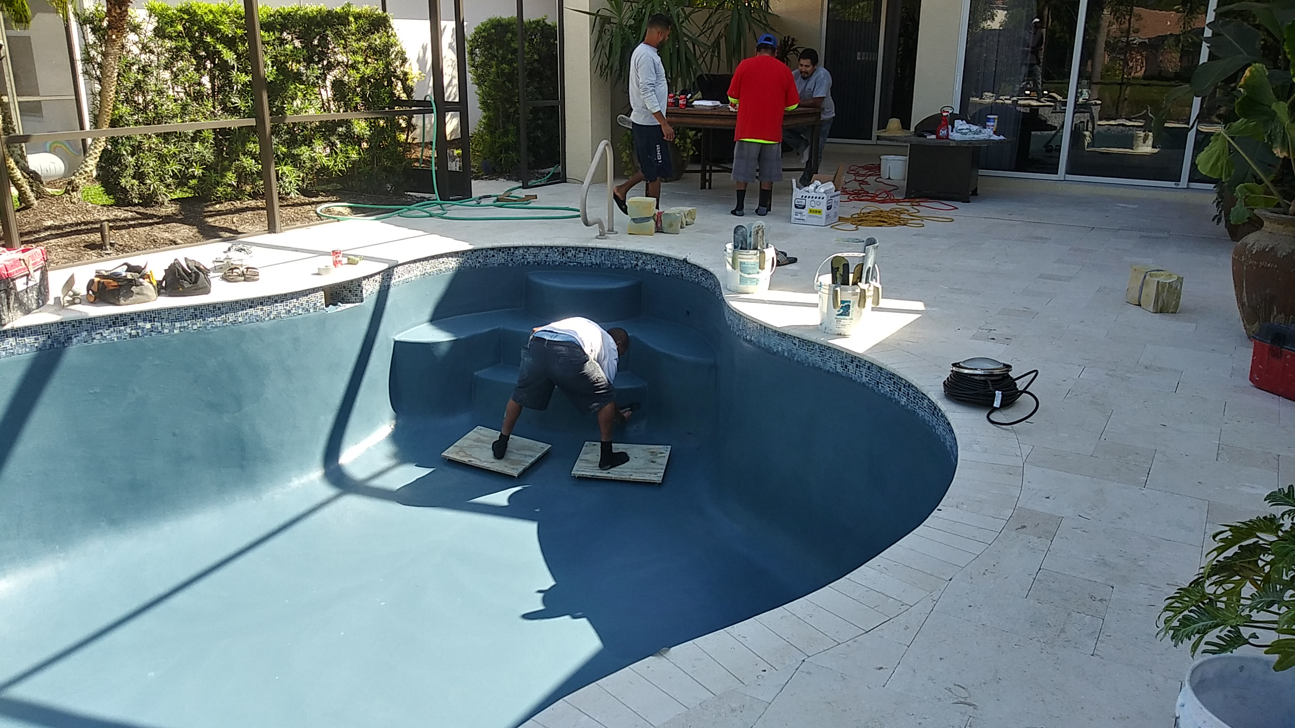 Pool Interior (Blue) & Tile