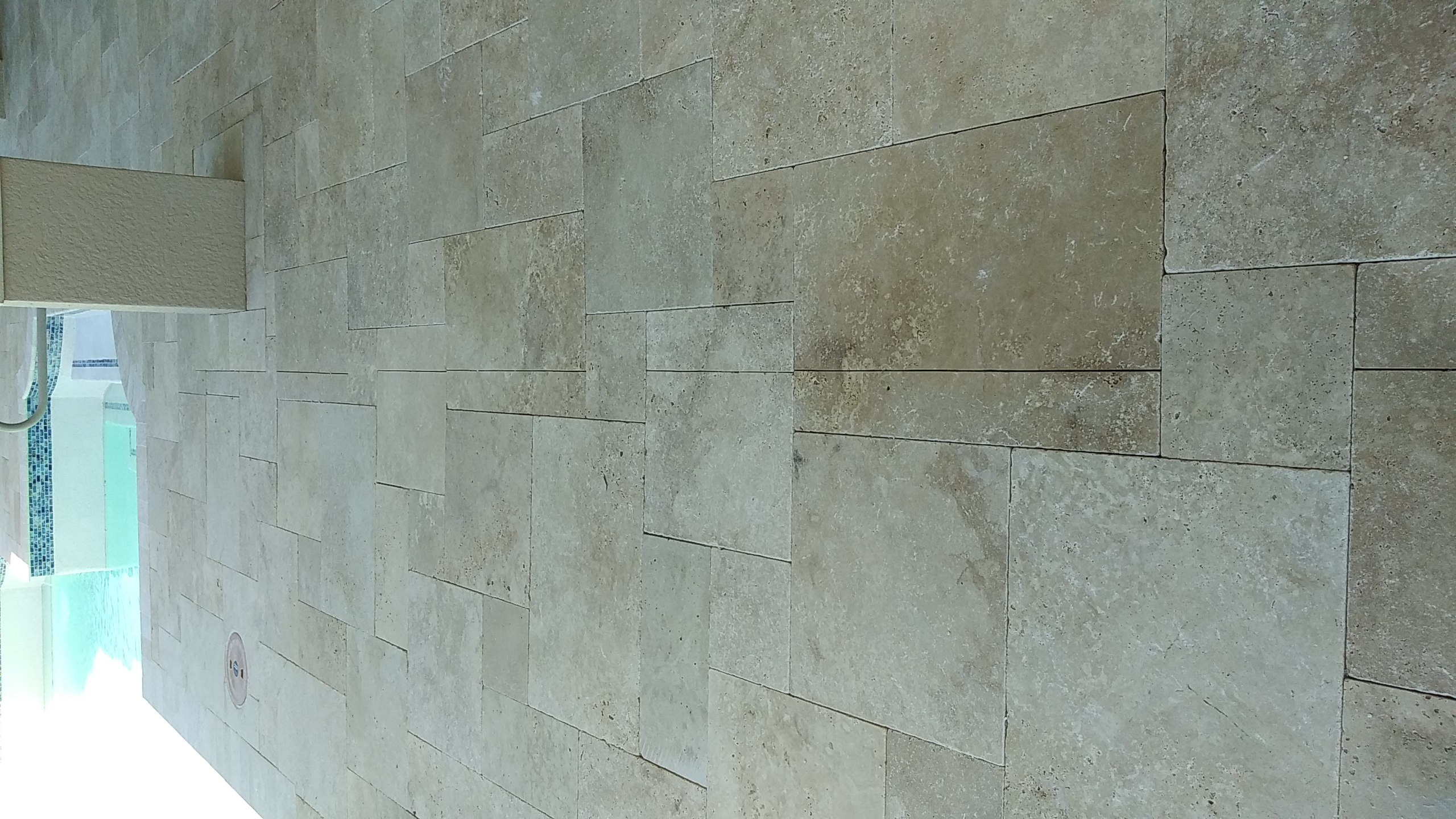 Natural Stone Deck Drain