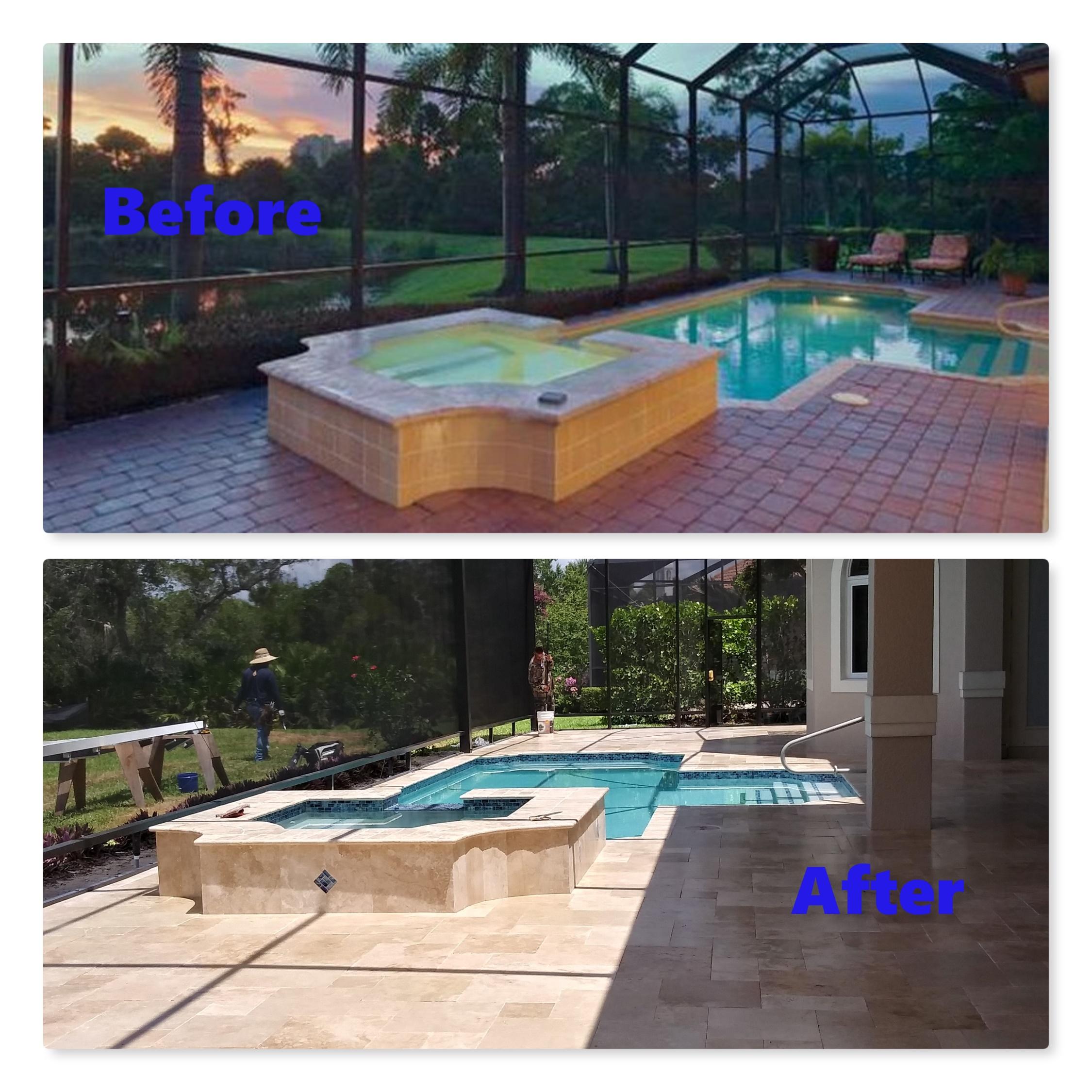 Pool, Deck & Spa Renovation